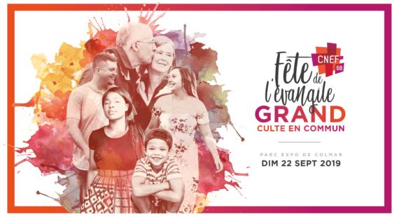 Fête de l'évangile – GRAND Culte en commun 2019