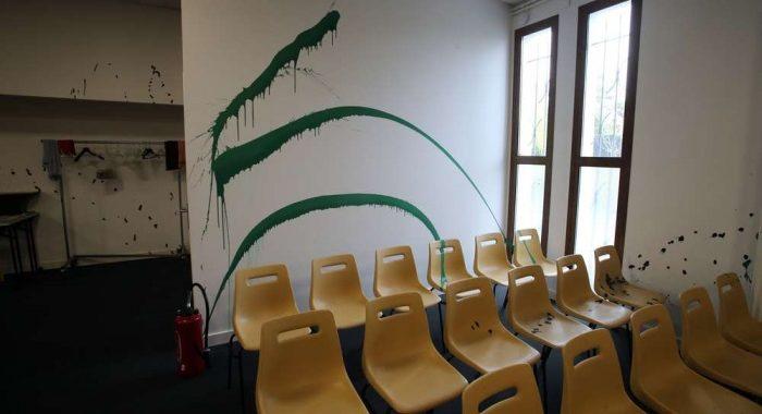 Encore une église vandalisée en France