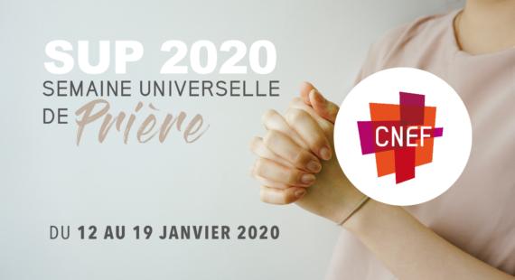 SEMAINE UNIVERSELLE DE PRIERE 2020