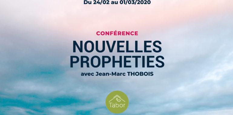 SEMINAIRE NOUVELLES PROPHETIES avec J-M THOBOIS