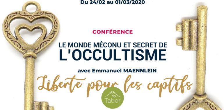 SEMINAIRE OCCULTISME – Emmanuel MAENNLEIN