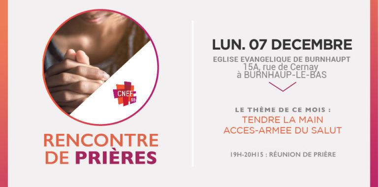Rencontre de prière CNEF Mulhouse