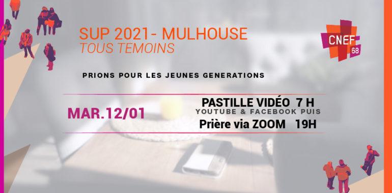 SUP 2021 CNEF Mulhouse – Prière