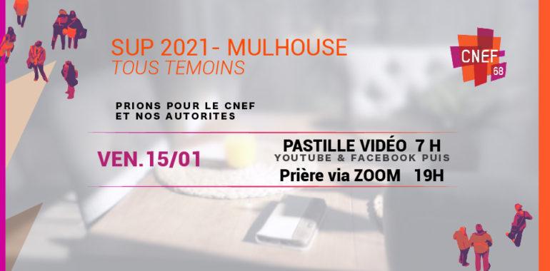 SUP 2021 – CNEF Mulhouse – Prière