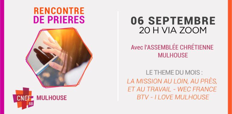 Rencontre de Prières – Mulhouse