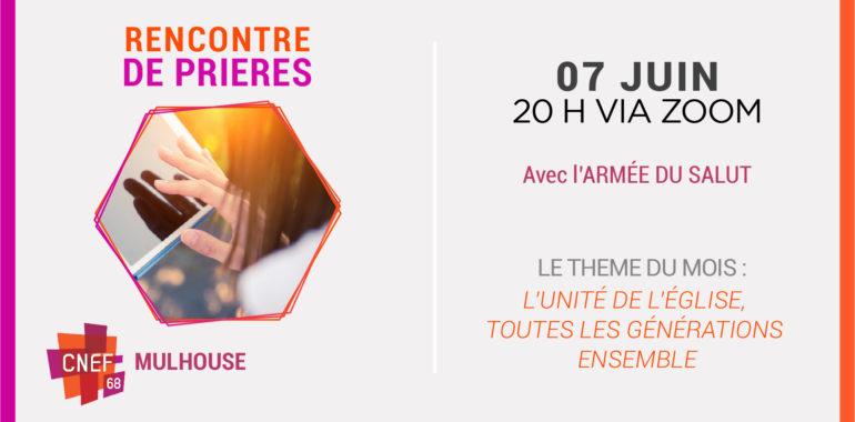 Rencontre de Prières – CNEF Mulhouse